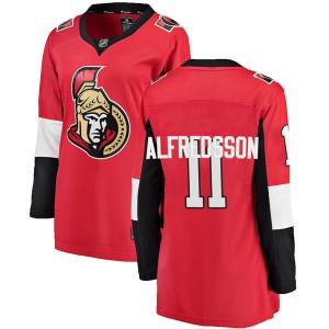 Women's Ottawa Senators Daniel Alfredsson Fanatics Branded Breakaway Home Jersey - Red