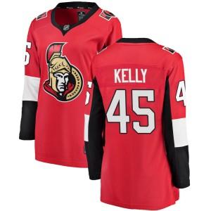 Women's Ottawa Senators Parker Kelly Fanatics Branded Breakaway Home Jersey - Red
