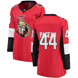 Women's Ottawa Senators Jean-Gabriel Pageau Fanatics Branded Breakaway Home Jersey - Red