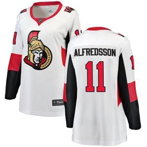 Women's Ottawa Senators Daniel Alfredsson Fanatics Branded Breakaway Away Jersey - White