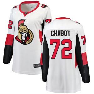 Women's Ottawa Senators Thomas Chabot Fanatics Branded Breakaway Away Jersey - White