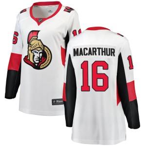 Women's Ottawa Senators Clarke MacArthur Fanatics Branded Breakaway Away Jersey - White
