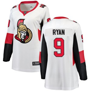 Women's Ottawa Senators Bobby Ryan Fanatics Branded Breakaway Away Jersey - White
