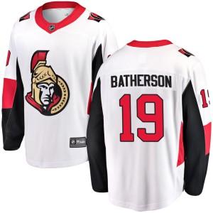 Youth Ottawa Senators Drake Batherson Fanatics Branded Breakaway Away Jersey - White