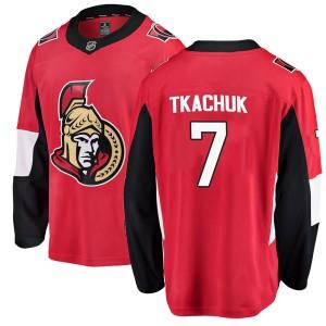 Men's Ottawa Senators Brady Tkachuk Fanatics Branded Breakaway Home Jersey - Red