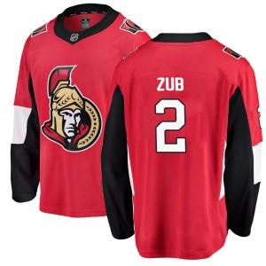 Men's Ottawa Senators Artem Zub Fanatics Branded Breakaway Home Jersey - Red