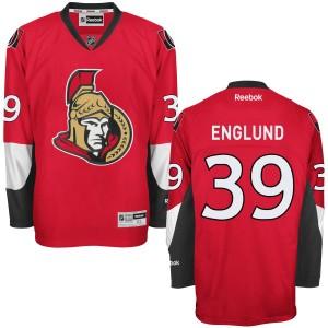 Men's Ottawa Senators Andreas Englund Reebok Replica Home Jersey - - Red