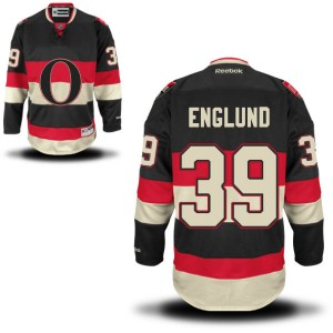 Youth Ottawa Senators Andreas Englund Reebok Premier Alternate Jersey - - Black