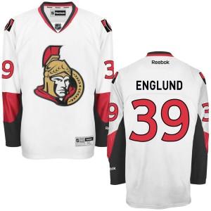Youth Ottawa Senators Andreas Englund Reebok Premier Away Jersey - - White