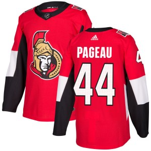 Men's Ottawa Senators Jean-Gabriel Pageau Adidas Authentic Jersey - Red