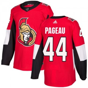 Youth Ottawa Senators Jean-Gabriel Pageau Adidas Authentic Home Jersey - Red
