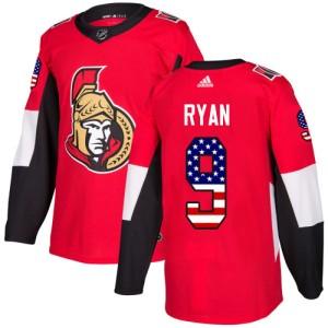 Youth Ottawa Senators Bobby Ryan Adidas Authentic USA Flag Fashion Jersey - Red